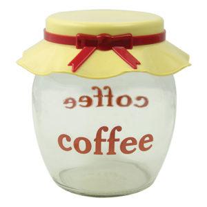 Βάζα γυάλινα καφέ-ζάχαρης