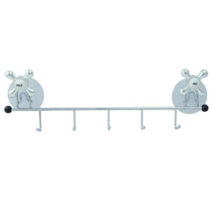 Κρεμάστρα μπάνιου μεταλλική με 5 γάντζους