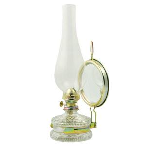 Λάμπα πετρελαίου παραδοσιακή με καθρέφτη Νο 8.